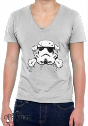 T-Shirt homme Col V Pirate Trooper