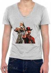T-Shirt homme Col V Red Dead Redemption Fanart