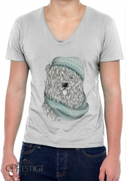 T-Shirt homme Col V Shaggy Dog