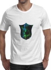 T-Shirt Manche courte cold rond Abstract neon Leopard