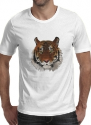 T-Shirt Manche courte cold rond Abstract Tiger