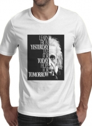 T-Shirt Manche courte cold rond Albert Einstein