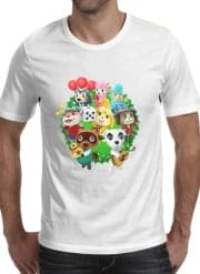 T-Shirt Manche courte cold rond Animal Crossing Artwork Fan