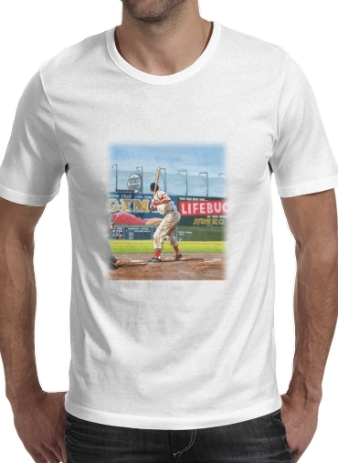 T-Shirt Manche courte cold rond Baseball Painting