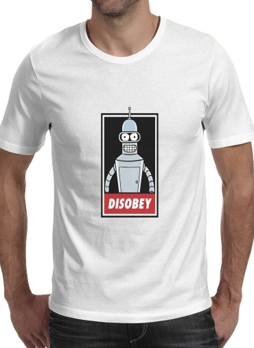 T-Shirt Manche courte cold rond Bender Disobey