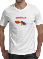 T-Shirt Manche courte cold rond Beyblade toupie magic