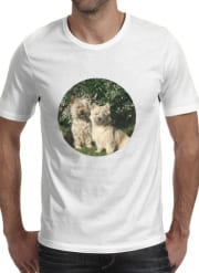 T-Shirt Manche courte cold rond Cairn terrier