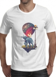 T-Shirt Manche courte cold rond Elephant Angel