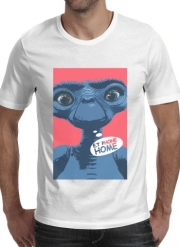 T-Shirt Manche courte cold rond E.t phone home