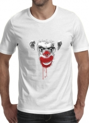 T-Shirt Manche courte cold rond Evil Monkey Clown