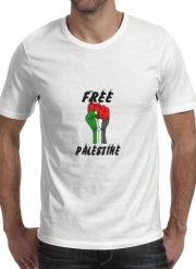 T-Shirt Manche courte cold rond Free Palestine