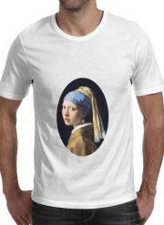 T-Shirt Manche courte cold rond Girl with a Pearl Earring