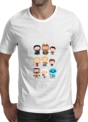 T-Shirt Manche courte cold rond Got characters