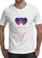 T-Shirt Manche courte cold rond I will love you