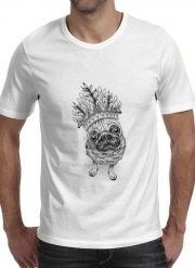 T-Shirt Manche courte cold rond Indian Pug