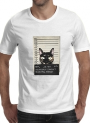 T-Shirt Manche courte cold rond Kitty Mugshot