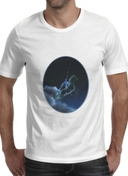 T-Shirt Manche courte cold rond Knight in ghostly armor
