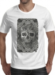 T-Shirt Manche courte cold rond Lace Skull