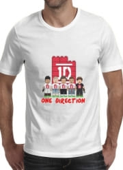 T-Shirt Manche courte cold rond Lego: One Direction 1D