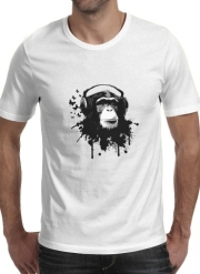 T-Shirt Manche courte cold rond Monkey Business - White