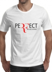 T-Shirt Manche courte cold rond Perfect as Roger Federer