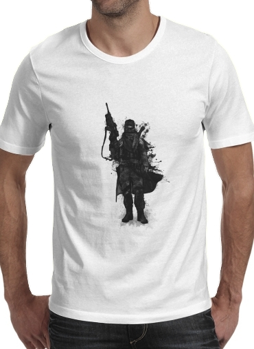 T-Shirt Manche courte cold rond Post Apocalyptic Warrior