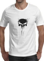 T-Shirt Manche courte cold rond Punisher Skull