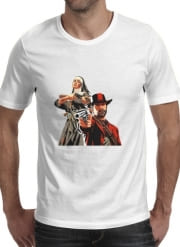 T-Shirt Manche courte cold rond Red Dead Redemption Fanart