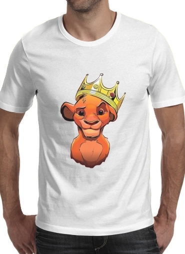 T-Shirt Manche courte cold rond Simba Lion King Notorious BIG