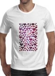 T-Shirt Manche courte cold rond Space Hearts