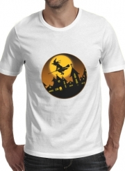 T-Shirt Manche courte cold rond Spooky Halloween 2