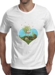 T-Shirt Manche courte cold rond Summer Feeling Birds
