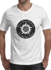 T-Shirt Manche courte cold rond SuperNatural Never Alone