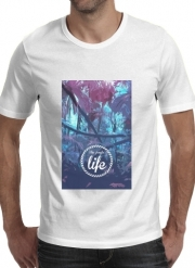 T-Shirt Manche courte cold rond the jungle life