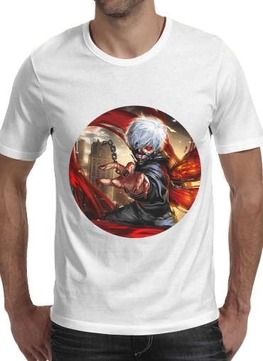 T-Shirt Manche courte cold rond Tokyo Ghoul