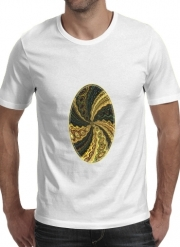 T-Shirt Manche courte cold rond Twirl and Twist black and gold