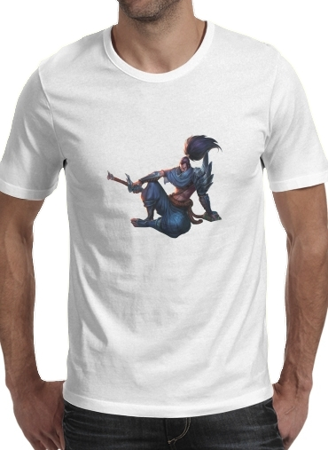 T-Shirt Manche courte cold rond Yasuo Lol Character