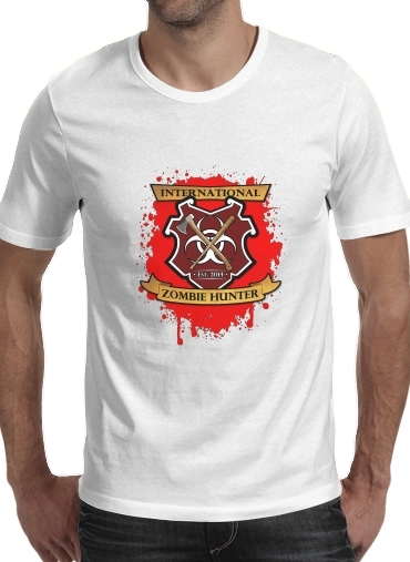 T-Shirt Manche courte cold rond Zombie Hunter