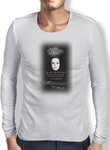 T-Shirt homme manche longue 13 Reasons why K7
