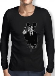 Mens Long Sleeve T-shirt American Gangster