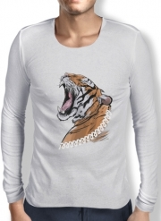 Mens Long Sleeve T-shirt Animals Collection: Tiger