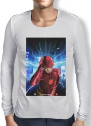 Mens Long Sleeve T-shirt At the speed of light