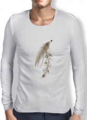 T-Shirt homme manche longue Boho Feather