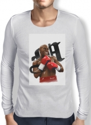 Mens Long Sleeve T-shirt Boxing Legends: Money