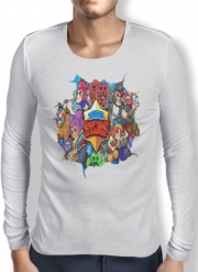 Mens Long Sleeve T-shirt Brawl stars