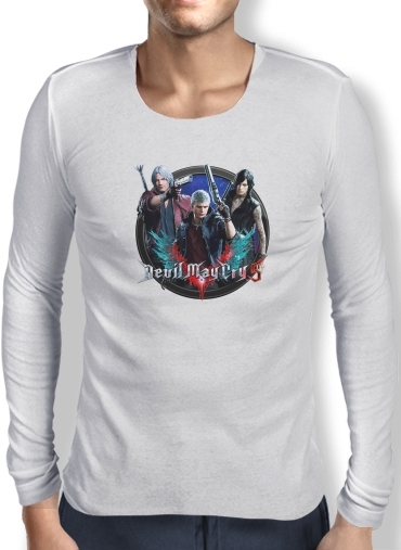 T-Shirt homme manche longue Devil may cry