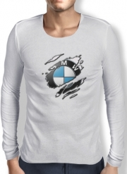Mens Long Sleeve T-shirt Fan Driver Bmw GriffeSport