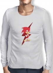 T-Shirt homme manche longue Flash The Hedgehog