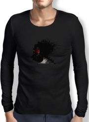 Mens Long Sleeve T-shirt Ghost Warrior