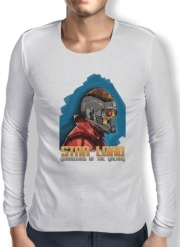 Mens Long Sleeve T-shirt Guardians of the Galaxy: Star-Lord